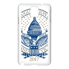 Presidential Inauguration USA Republican President Trump Pence 2017 Logo Samsung Galaxy Note 3 N9005 Case (White)