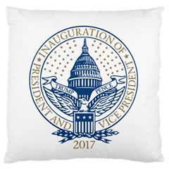 Presidential Inauguration Republican President Trump Pence 2017 Logo Standard Flano Cushion Case (Two Sides)