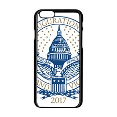 Presidential Inauguration USA Republican President Trump Pence 2017 Logo Apple iPhone 6/6S Black Enamel Case