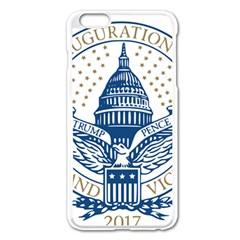 Presidential Inauguration USA Republican President Trump Pence 2017 Logo Apple iPhone 6 Plus/6S Plus Enamel White Case
