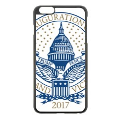 Presidential Inauguration USA Republican President Trump Pence 2017 Logo Apple iPhone 6 Plus/6S Plus Black Enamel Case