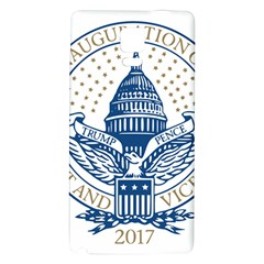 Presidential Inauguration USA Republican President Trump Pence 2017 Logo Galaxy Note 4 Back Case