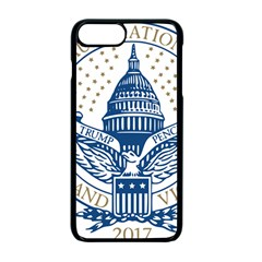 Presidential Inauguration USA Republican President Trump Pence 2017 Logo Apple iPhone 7 Plus Seamless Case (Black)