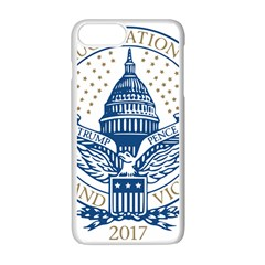 Presidential Inauguration USA Republican President Trump Pence 2017 Logo Apple iPhone 7 Plus White Seamless Case