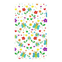 Cute butterflies and flowers pattern Memory Card Reader