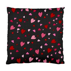 Hearts pattern Standard Cushion Case (Two Sides)
