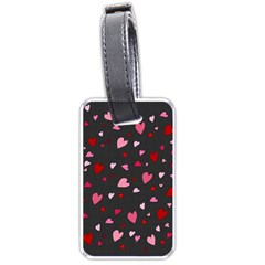 Hearts pattern Luggage Tags (One Side)