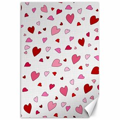 Valentine s Day Hearts Canvas 20  X 30