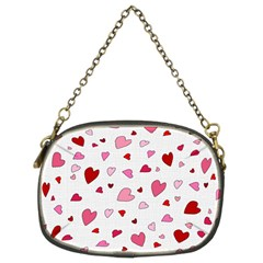 Valentine s day hearts Chain Purses (Two Sides)