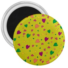Colorful hearts 3  Magnets