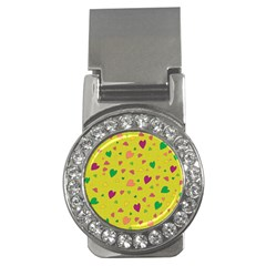 Colorful hearts Money Clips (CZ)