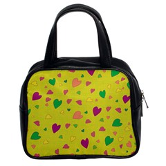 Colorful hearts Classic Handbags (2 Sides)