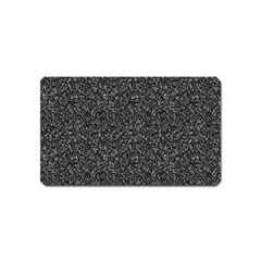 Gray texture Magnet (Name Card)