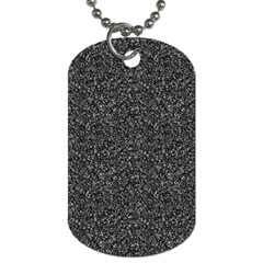 Gray texture Dog Tag (Two Sides)