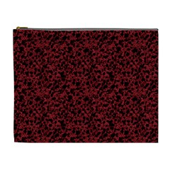 Red coral pattern Cosmetic Bag (XL)