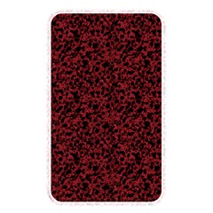 Red coral pattern Memory Card Reader