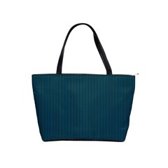 Blue texture Shoulder Handbags
