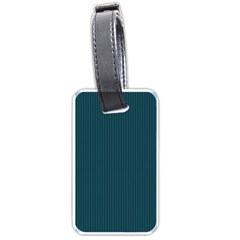 Blue texture Luggage Tags (One Side)