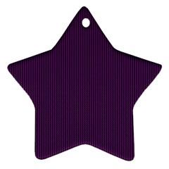 Purple texture Ornament (Star)