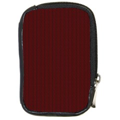 Red texture Compact Camera Cases