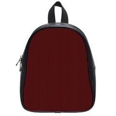 Red texture School Bags (Small)