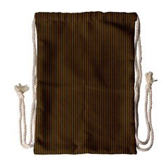 Gold texture Drawstring Bag (Large)