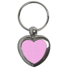 Pink texture Key Chains (Heart)