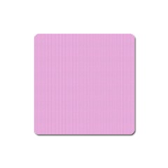 Pink texture Square Magnet