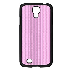 Pink Texture Samsung Galaxy S4 I9500/ I9505 Case (black)