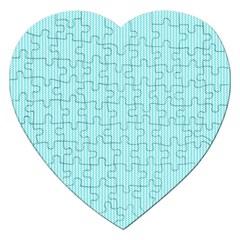 Light blue texture Jigsaw Puzzle (Heart)
