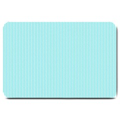 Light blue texture Large Doormat