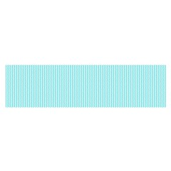 Light Blue Texture Satin Scarf (oblong)