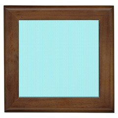 Light blue texture Framed Tiles