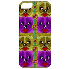 Peace Dogs Apple Iphone 5 Classic Hardshell Case