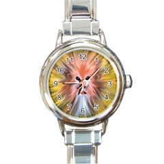 Monster Ghost Horror Face Round Italian Charm Watch