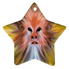 Monster Ghost Horror Face Ornament (Star)