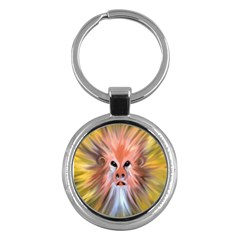 Monster Ghost Horror Face Key Chains (round)