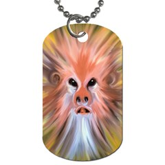 Monster Ghost Horror Face Dog Tag (Two Sides)
