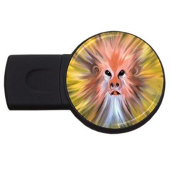 Monster Ghost Horror Face USB Flash Drive Round (2 GB)