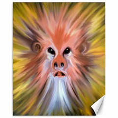 Monster Ghost Horror Face Canvas 11  x 14