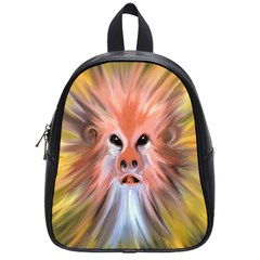 Monster Ghost Horror Face School Bags (Small)