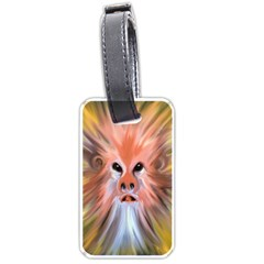 Monster Ghost Horror Face Luggage Tags (One Side)