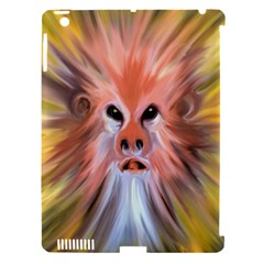 Monster Ghost Horror Face Apple Ipad 3/4 Hardshell Case (compatible With Smart Cover)