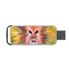 Monster Ghost Horror Face Portable USB Flash (Two Sides)