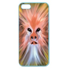 Monster Ghost Horror Face Apple Seamless Iphone 5 Case (color)