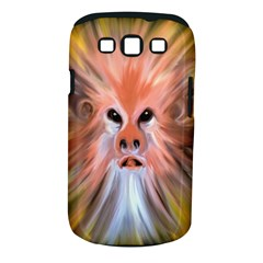 Monster Ghost Horror Face Samsung Galaxy S III Classic Hardshell Case (PC+Silicone)