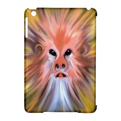 Monster Ghost Horror Face Apple iPad Mini Hardshell Case (Compatible with Smart Cover)