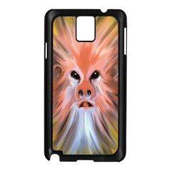 Monster Ghost Horror Face Samsung Galaxy Note 3 N9005 Case (Black)