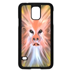 Monster Ghost Horror Face Samsung Galaxy S5 Case (black)