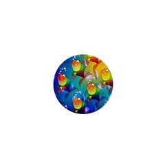 Fish Pattern 1  Mini Magnets